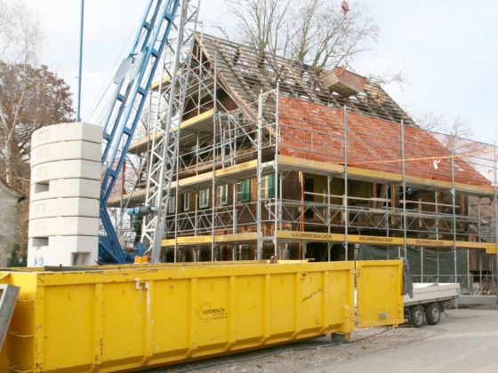 Umbau MFH Kirchbühl Bruni