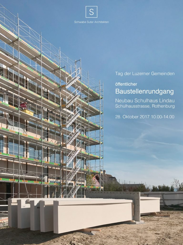 Einladung Schulhaus Lindau