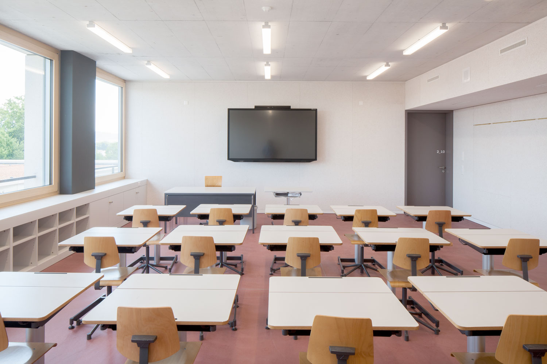 Neubau Sekundarschulhaus mit Dreifachsporthalle Lindau, Rothenburg Luzern
