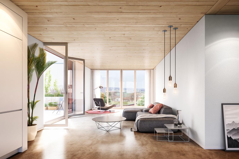 Wettbewerb Wohnüberbauung Waldacker
