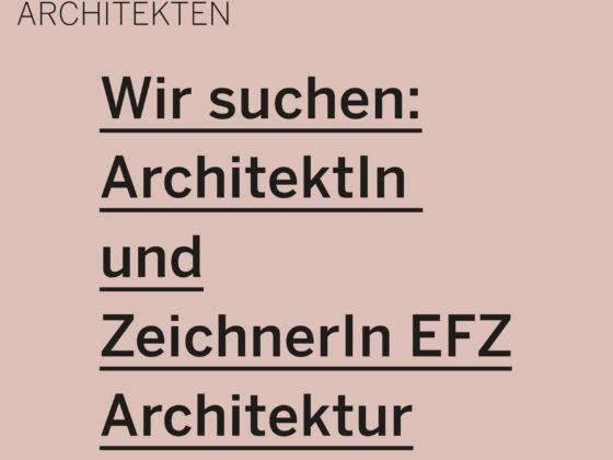 Job Schwabe Suter Architekten