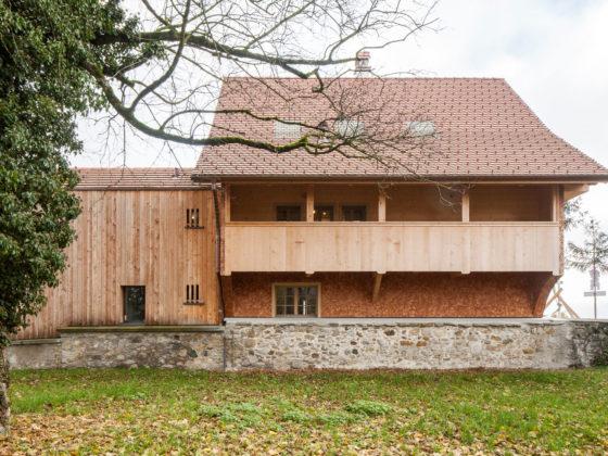Umbau Denkmalgeschützte Bauernhäuser in Kirchbühl, Haus Bruni