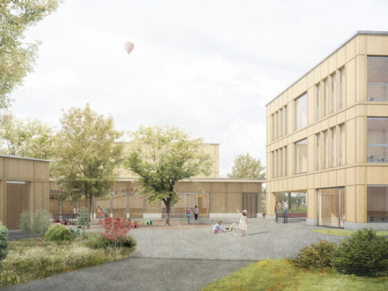 Primarschule, Mehrzweckhalle und Dreifachkindergarten, Müllheim TG