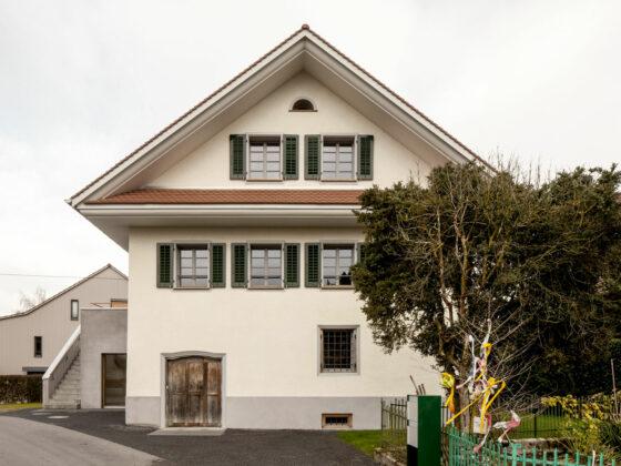 Umbau Denkmalgeschützte Bauernhäuser in Kirchbühl, Haus Wissi